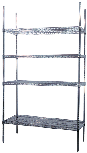 shelving-chrome